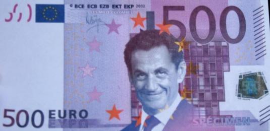 Monnaie de singe, 500 euros Sarkozy