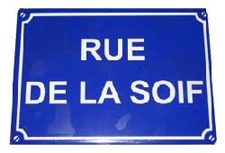Bretagne, Rue de la Soif