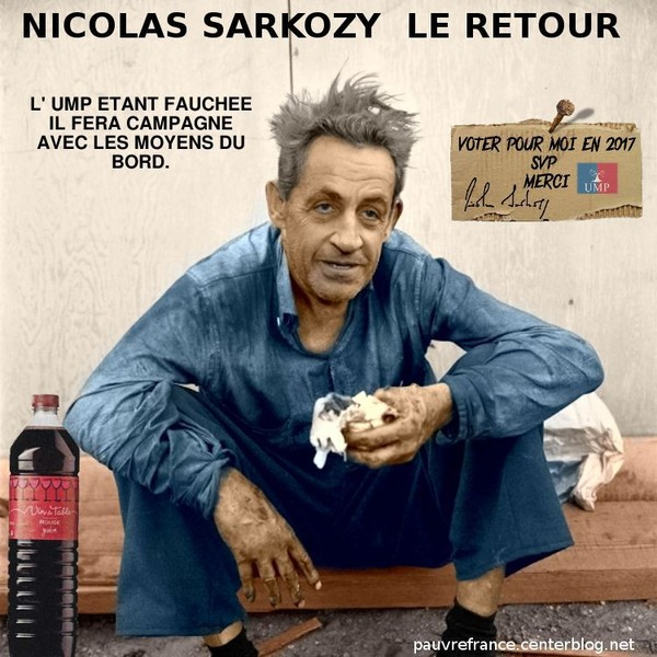Le retour 2014 de Nicolas Sarkosy