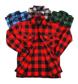 Chemise de bûcheron québécois
