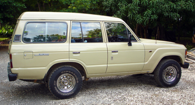 Toyota Land Cruiser HJ60 modèle 1985 - iosta Rica