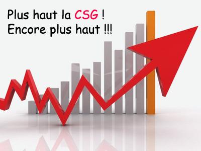 François Hollande veut relever la CSG