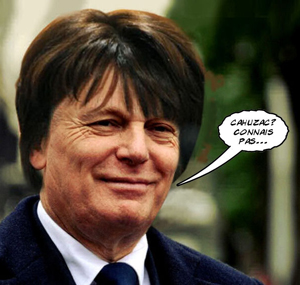 Jean-Marc Ayrault, Cahuzav connais pas ...