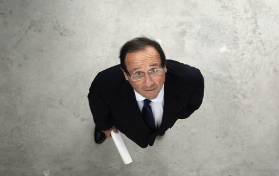 6 mai 2012, François Hollande futur Président de la République Française