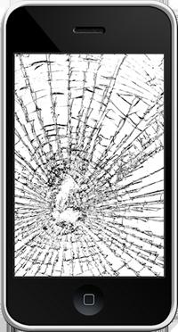 iPhone, écran cassé
