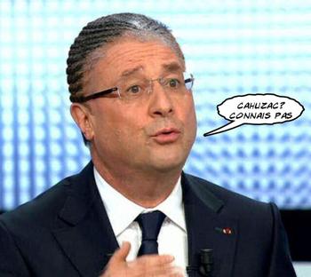 François Hollande gréffé par Jerôme Cahuzac