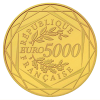 Pièce d'or Monnaie de Paris de 5.000 euros bientôt interdite ?