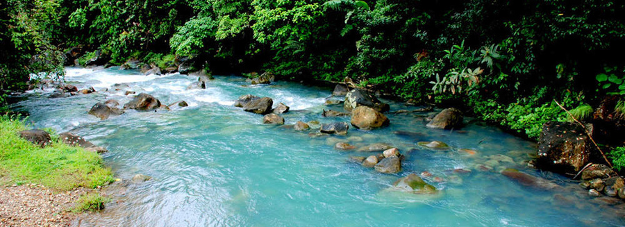 Le Rio Celeste au Costa Rica
