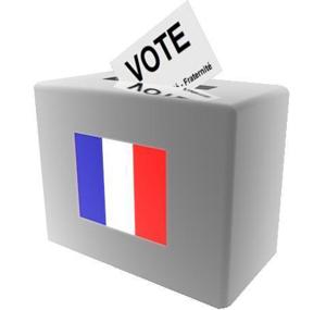 Urne de vote en France