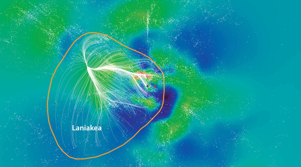 À la découverte de Laniakea, notre superamas galactique
