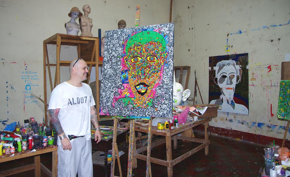 Jean-Marc Calvet peintre français installé à Granada / Nicaragua - Octobre 2014