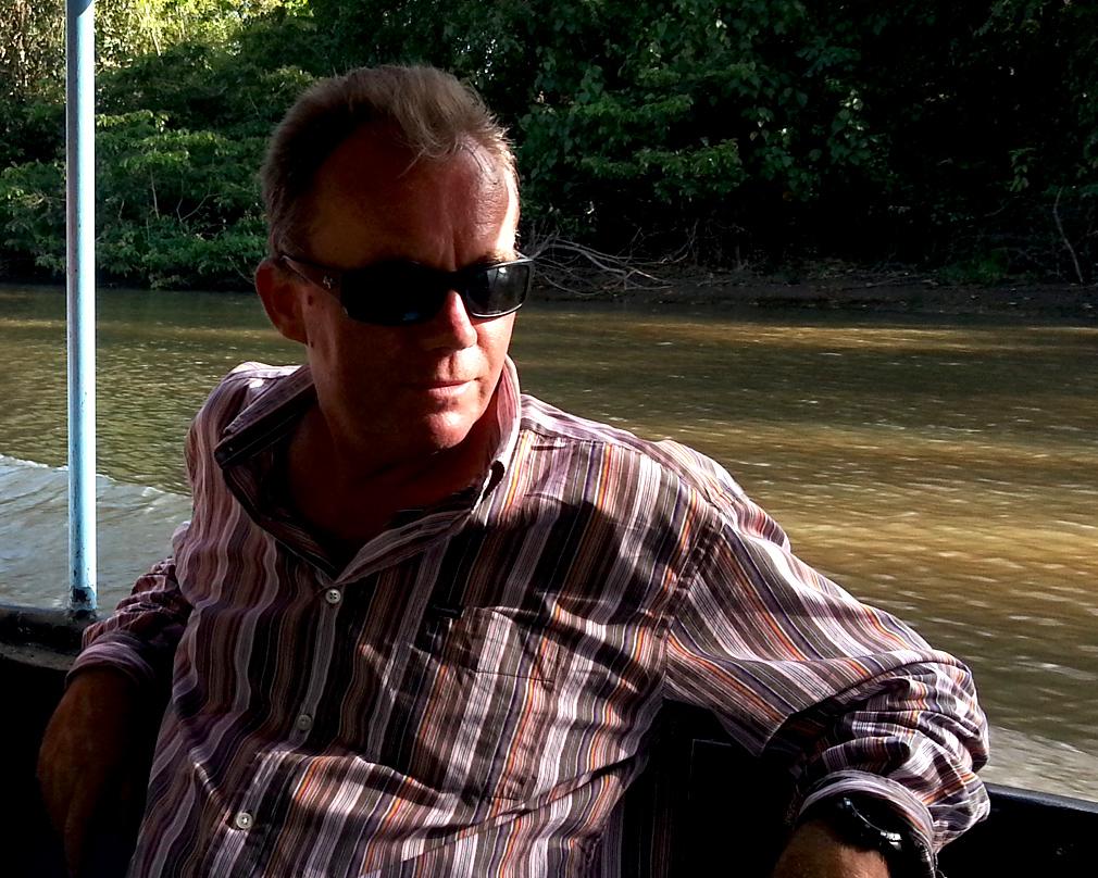 Stéphane - Pêche au Rio San Juan du Nicaragua - Mars 2015 - Vue 2