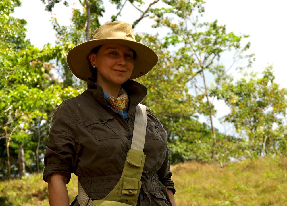 Natacha, Sandina, Costa Rica Mars 2014