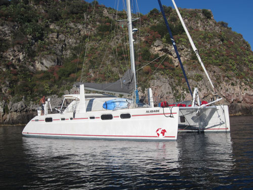 Costa Rica - Catamaran Alidade - 1