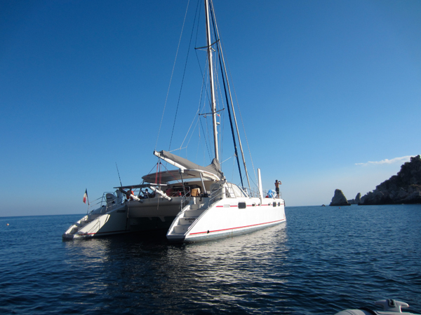 Costa Rica - Catamaran Alidade - 2