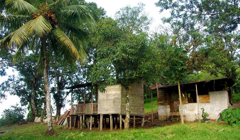 Costa Rica - Vieille maison bois en ruine - D�molition 2
