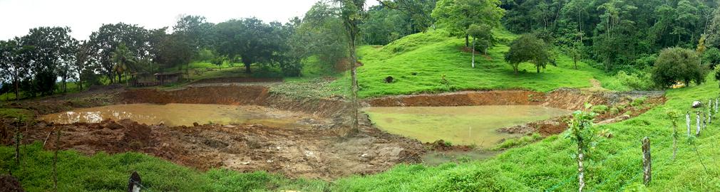 Costa Rica - Remise en état de lagunes