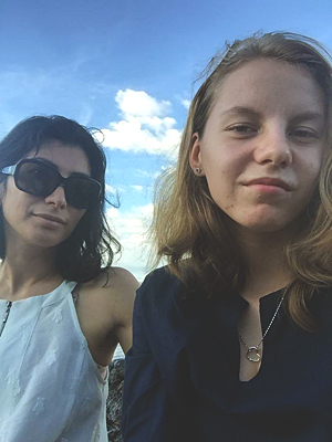 Novembre 2019 - Plage de Tamarindo - Anna et Yendry