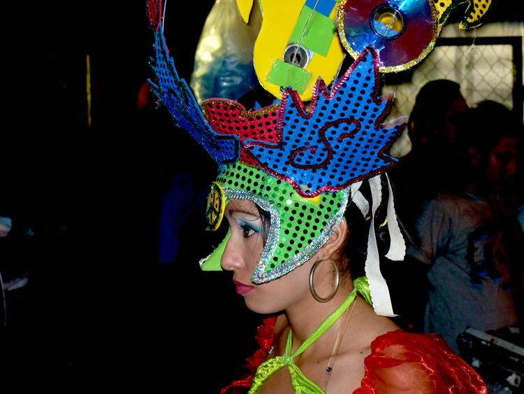 Carnaval 2012 Granada / Nicaragua - Chica pensive