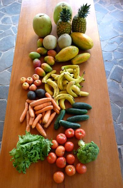 Courses Fruits & Légumes - Avril 2012