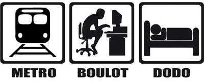 Métro - Boulot - Dodo