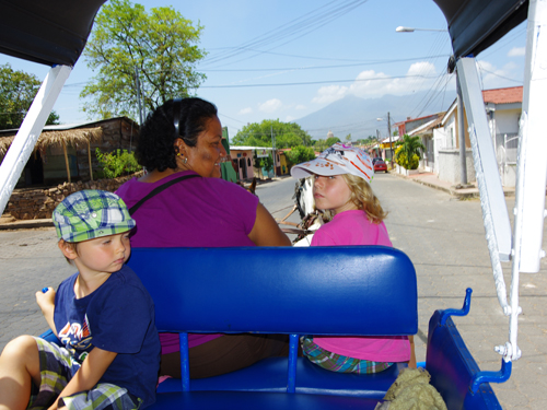 Promenade en calèche, Granada, Nicaragua