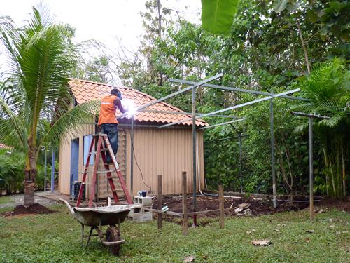 Début d'un potager - Guanacaste - Costa Rica - 2