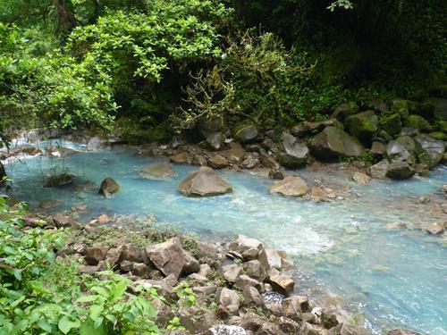 Rio Celeste, Parc national du Volcan Tenorio, Costa Rica