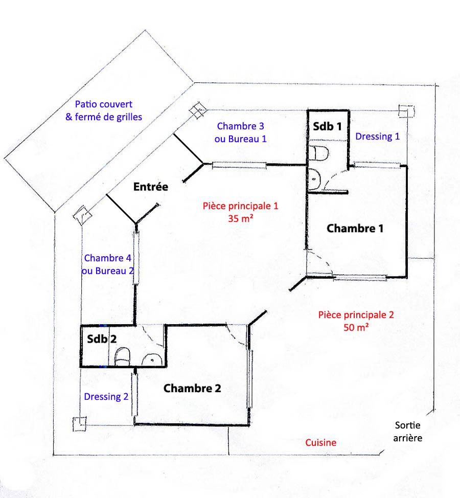 Plan Maison Hacienda