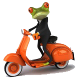 Agent Immobilier au Costa Rica - Scooter