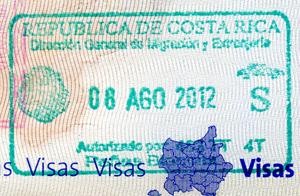 Visa de sortie du Costa Rica
