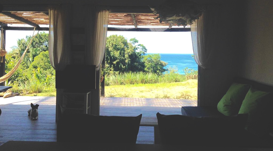Costa Rica, péninsule de Nicoya, 2 villas locatives en bord de mer, vue imprenable, Maison 50 m² - Vue 3